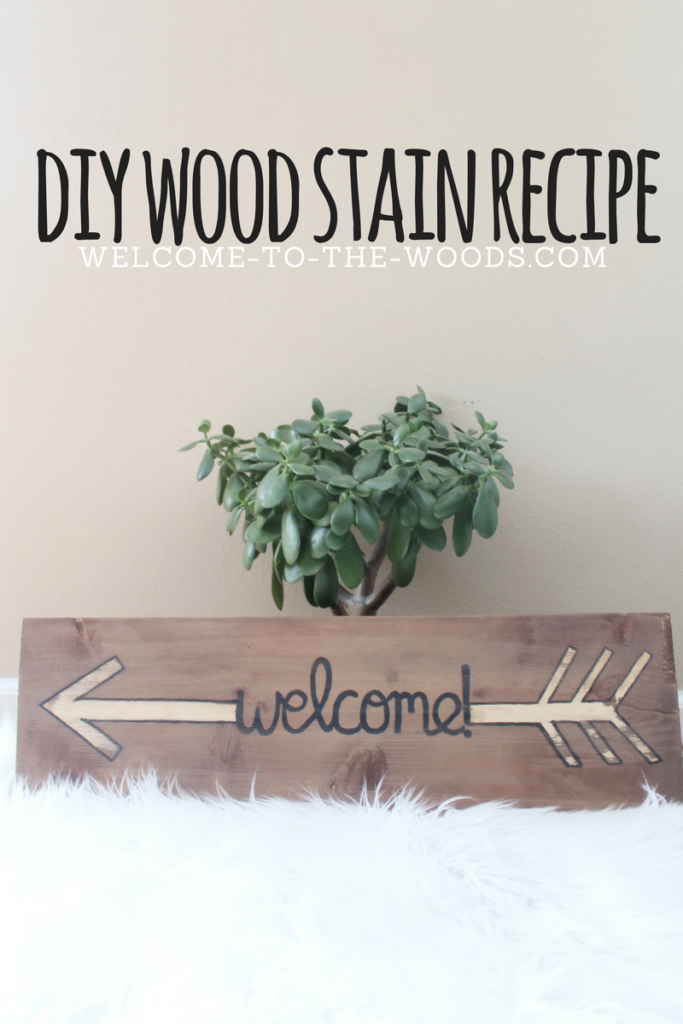 Video tutorial included! This DIY wood stain recipe is easy to use, costs next to nothing, and you probably already have the ingredients in your home!