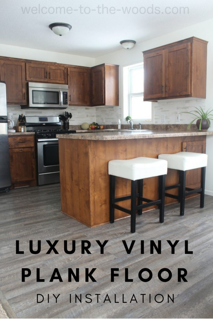 My New Kitchen And Dining Room Floor Is Beautiful Durable 100 Waterproof