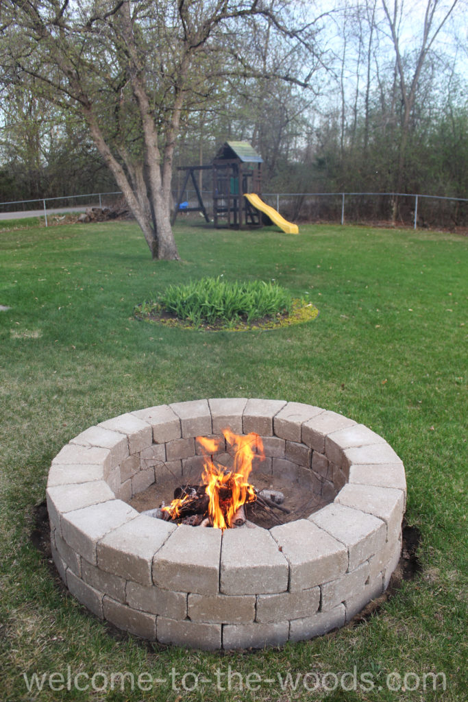 Build Your Own Fire Pit Welcome To The Woods