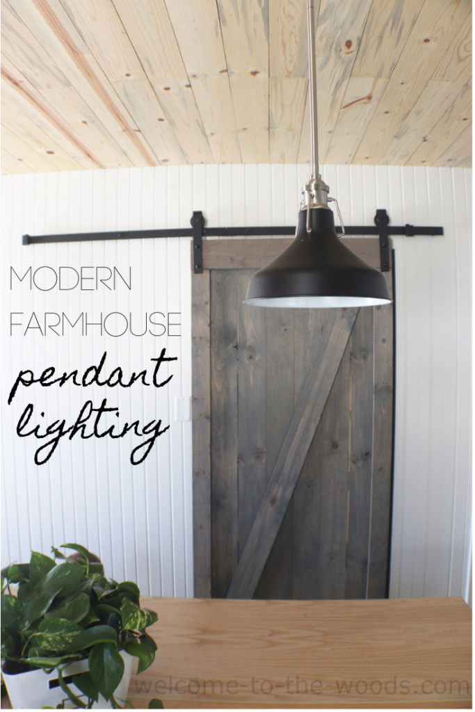 Modern Lighting For Our Old Farmhouse